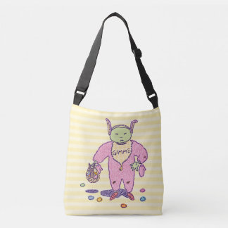 Ghoulie Gimme Chocolate Crossbody Bag