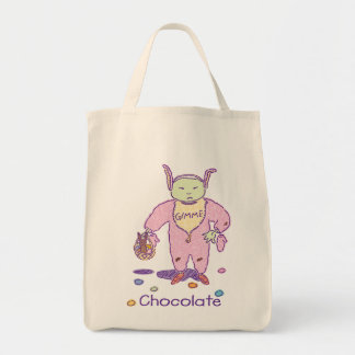 Ghoulie Gimme Chocolate Tote Bag
