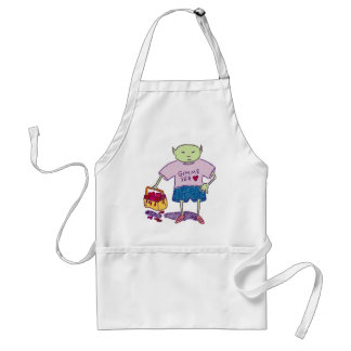 Ghoulie Gimme Yer Heart Apron