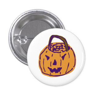 Ghoulie Gourd Button