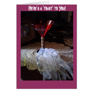 Ghoulie Martini Card