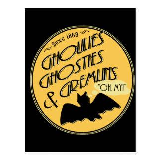 Ghoulies Ghosties and Gremlins Postcard