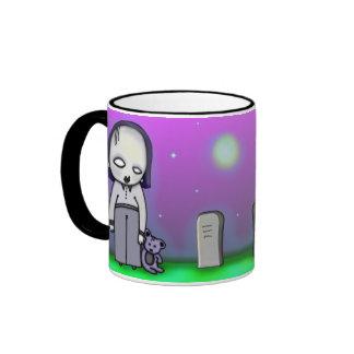 Ghoulies In The Graveyard Ringer Mug