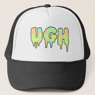 ghoulish attitude trucker hat