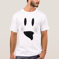Ghoulish Ghost Halloween T-Shirt