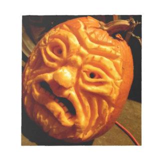 Ghoulish Gourd II Notepad