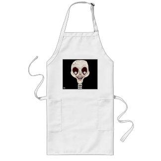 Ghoulish Skull Apron
