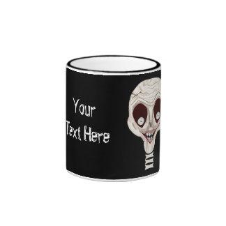 Ghoulish Skull Mug