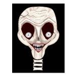 Ghoulish Skull Postcards