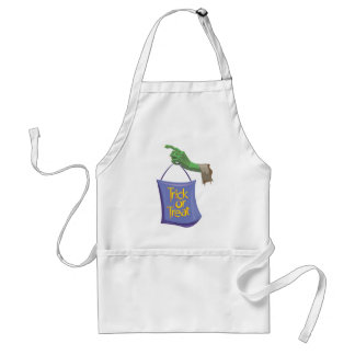 Ghoulish Trick Or Treat Aprons