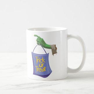 Ghoulish Trick Or Treat Coffee Mug