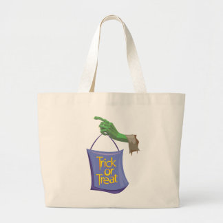 Ghoulish Trick Or Treat Tote Bags