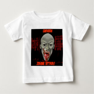 Ghoulish Zombie Attack Baby T-Shirt