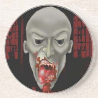 Ghoulish Zombie Attack Drink Coaster