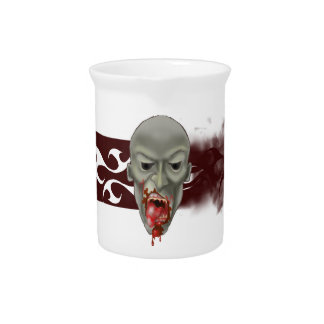 Ghoulish Zombie Attack Drink Pitchers