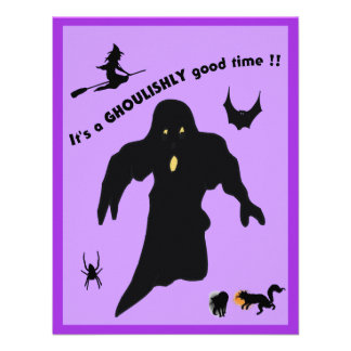 Ghoulishy Good Time - Announcements