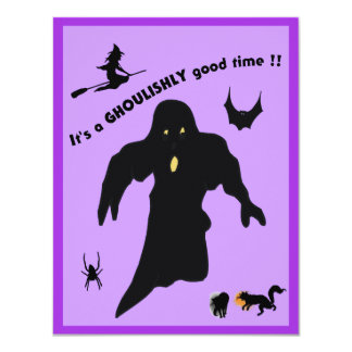 Ghoulishy Good Time - Card