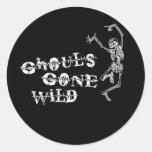 Ghouls Gone Wild Round Sticker