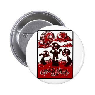 Ghouls Night Out 2 Inch Round Button