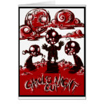 Ghouls Night Out Greeting Card