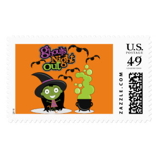 Ghouls Night Out Postage