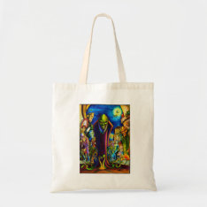 Ghoul's Night Out Tote Bag at Zazzle
