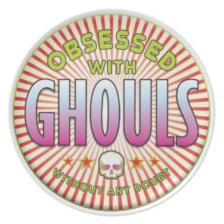 Ghouls Obsessed R Party Plates