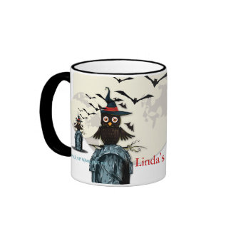 Ghouls Want to Have Fun Ringer Coffee Mug