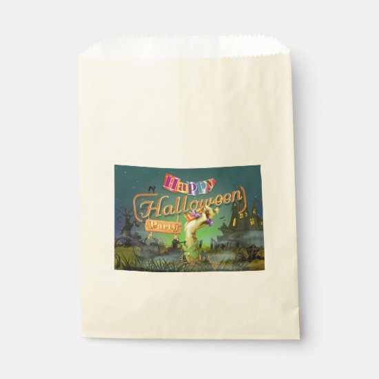 Ghouslishly Great Halloween Favor Bags