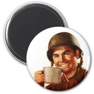 GI Cuppa Joe 2 Inch Round Magnet