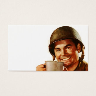 GI Cuppa Joe Business Card