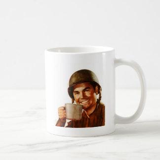 GI Cuppa Joe Classic White Coffee Mug