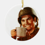 GI Cuppa Joe Ornaments