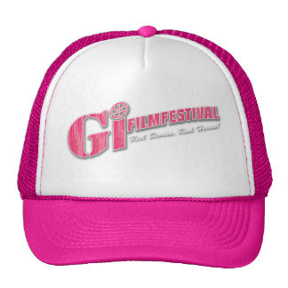 GI Film Festival Logo Hat | Pink+ Pink