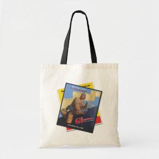 GI Film Festival Real Heroes Vintage Tee (Pilot) Budget Tote Bag