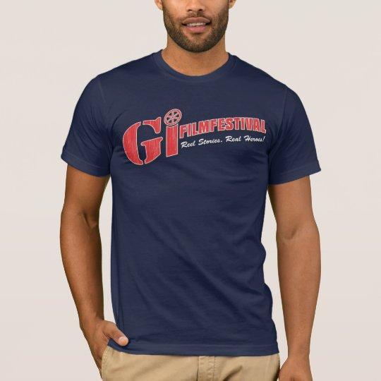 GI Film Festival Shirt   Red Logo
