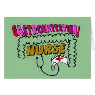 GI (Gastrointestinal) Nurse Gifts Card