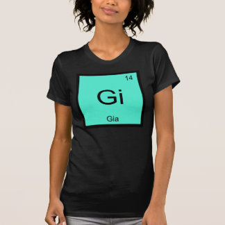 Gia  Name Chemistry Element Periodic Table Tees