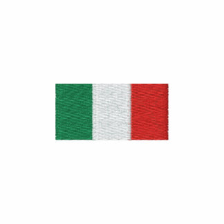¡Giacca Bandiera Italiana - Forza Italia! Chamarra De Deporte Bordada
