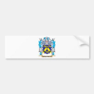 Giacometti Coat of Arms - Family Crest Car Bumper Sticker