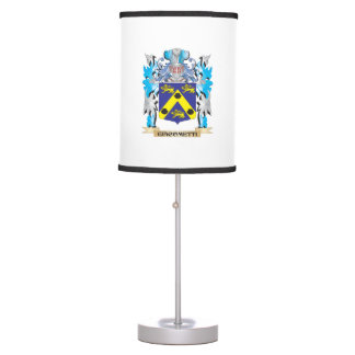 Giacometti Coat of Arms - Family Crest Table Lamps