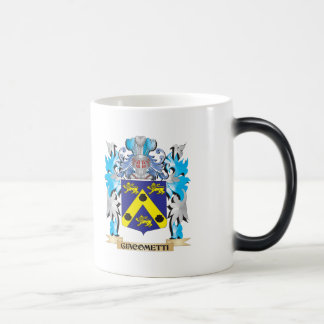 Giacometti Coat of Arms - Family Crest 11 Oz Magic Heat Color-Changing Coffee Mug