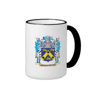 Giacometti Coat of Arms - Family Crest Ringer Coffee Mug