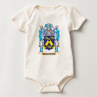 Giacometti Coat of Arms - Family Crest Baby Bodysuits