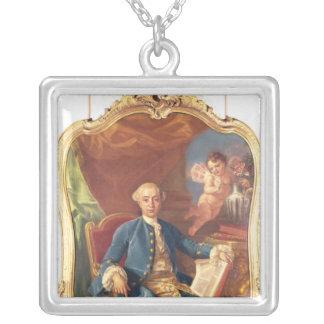 Giacomo Casanova Silver Plated Necklace