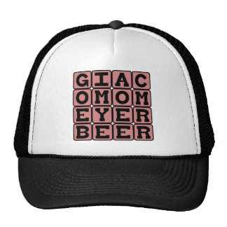 Giacomo Meyerbeer, German Opera Composer Trucker Hat