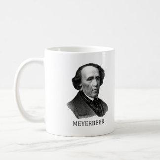 Giacomo Meyerbeer negro Taza De Café