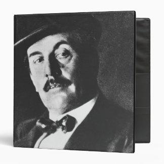 Giacomo Puccini (1858-1924) 1924 (photolitho) (b/w Binder