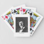 Giacomo Puccini (1858-1924) 1924 (photolitho) (b/w Deck Of Cards