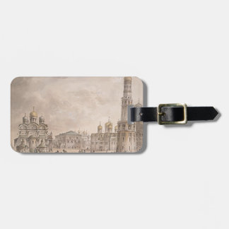 Giacomo Quarenghi-Cathedral Square of Moscow Tags For Luggage